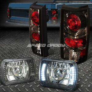 Projector Led Black Headlight Smoked Altezza Tail Light For 82 Chevy Gmc S10 S15