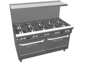 Southbend 4603aa Ultimate 60 10 Star Burner Range W 2 Convection Ovens