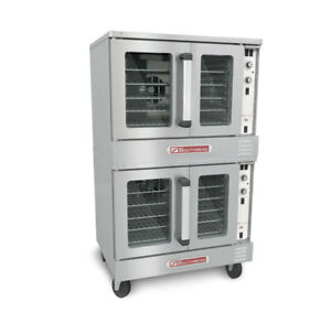 Southbend Es 20sc Electric Double Stack Convection Oven Standard Depth