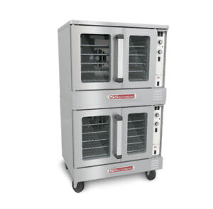 Southbend Electric Double Stack Convection Oven Cook Hold Std Depth