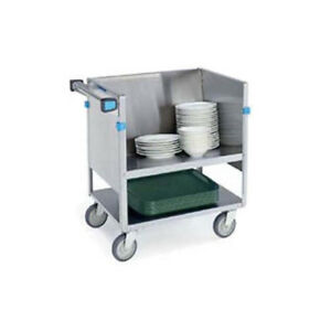 Lakeside 407 35 wx18 1 2 lx14 h Stainless Steel Store N Carry Dish Truck