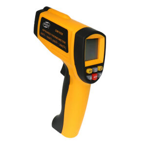 Gm1650 Lcd Digital Ir Infrared Thermometer Temperature Meter 200 1650 c 50 1