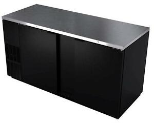 Bk Resources Bb 2 69 69 Back Bar Cooler With Black Vinyl Exterior