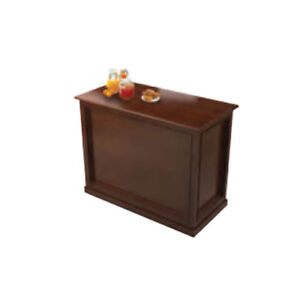 Lakeside 79991 57 1 2 wx25 1 2 dx36 3 4 h 2 Comp Rivage Beverage Cart