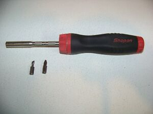 Snap on Sgdmrc4a Red Comfort Grip Ratcheting Screwdriver