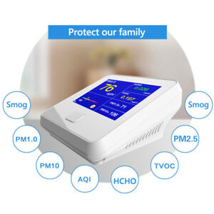 Multi function Laser Sensor Pm2 5 Pm10 Pm1 0 Air Quality Monitor Gas Analyzer Us