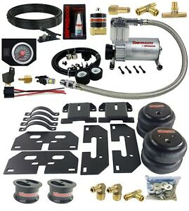 Air Tow Assist Load Level Kit On Board 2003 13 Dodge Ram 8 Lug Truck Lifted 4