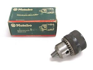 New Metabo 1 2 13mm Geared Drill Chuck No Chuck Key