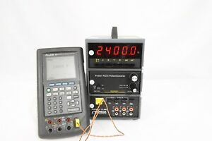 Omega Digicator Cl 466 Thermocouple Thermometer Mv Ma Calibrator Simulator