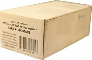 Perfect 25 Oz 3 4 Wide Steel Stick On Tape Weight 48 3oz Strips Bx 1 4 Oz