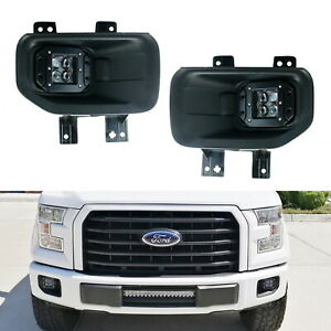 4d Projector 20w Cree Led Pods W wire Brackets For Ford 15 F150 17 F250 F350
