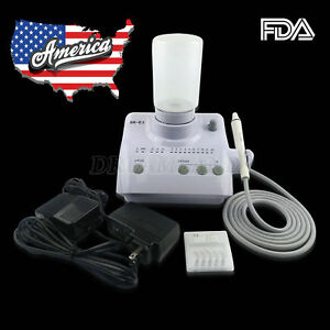 Fda Dental Ultrasonic Scaler Cleaner Fit Ems Woodpecker Auto Dosing Water Supply
