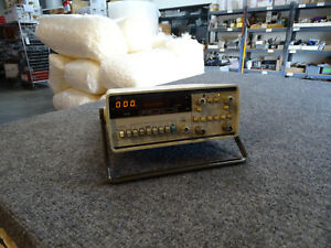 Hp Agilent 5315a Universal Frequency Counter 100mhz W Stand