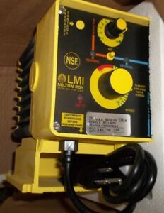 Lmi Milton Roy Liquidpro B711 392si Electronically Controlled Meter Pump wl63