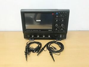 Lecroy Wavesurfer 3034 350mhz 4gs s 4ch Oscilloscope With Pp020 Probes