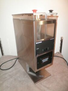 Bunn G9 Series Portion Control Dual Hopper Commercial Coffee Bean Grinder