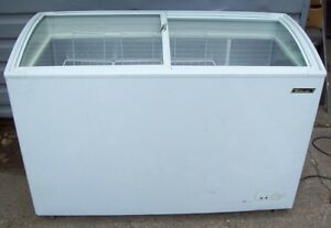 Restaurant Equipment Turboair Chest Freezer On Casters Model Tsd 60cf White
