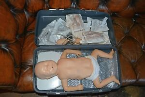 Laerdal Resusci Baby For First Aid Cpr Training Maniquin With Extras