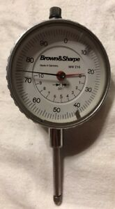 Brown Sharpe Mw 216 Dial Indicator Made In Germany