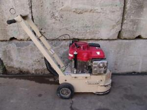 Edco Tg10 11h Concrete Turbo Grinder Gas 11hp Motor Runs Well