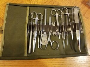 Hamilton Bell 12 Piece Medical Dissection Kit