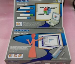 New Mimio Xi Usb Interactive Whiteboard Capture Kit Virtual Ink Complete Set