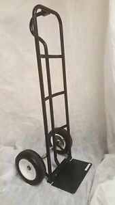600 Lb Pound Capacity Hand Truck With 2 10 Flat free Tires