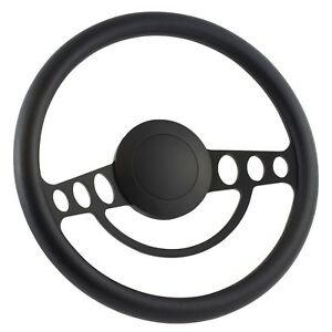 65 70 Ford Falcon Comet 14 Inch Black 9 Hole Classic Steering Wheel Black
