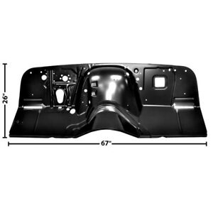 1963 64 65 66 Chevy Pickup Truck New Firewall 2 Piece Design Edp Coated Dynacorn