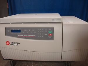 Beckman Coulter Allegra X 12r Benchtop Refrigerated Centrifuge Sx4750 Rotor