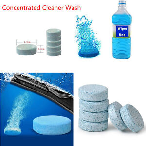 Car Care Window Windshield Glass Concentrated Cleaner Wash Effervescent Tablets