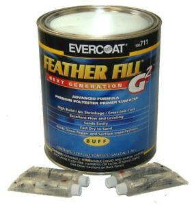 Evercoat Feather Fill G2 Buff Polyester Primer Surfacer Auto Paint