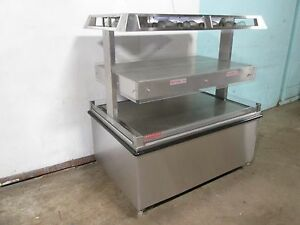 hardt Commercial Hd Heated Lighted Self serve Hot Food chicken Merchandiser