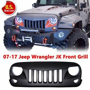 Upgrade Angry Bird Front Grill Grille For Jeep Wrangler 07 17 Jk