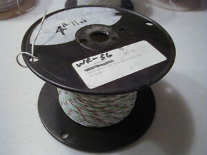 Wr 56 16 Ptfe Insulated Wire Stranded Silver Plated Copper 350 Ft Nos