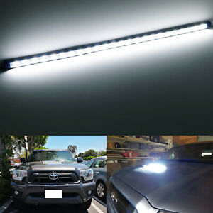 Flexible Led Hood Bulge Light Strip For 2012 15 Toyota Tacoma W hood Scoop Bulge