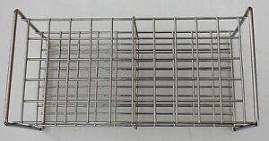 Stainless Steel Wire Frame Test Tube Rack 50 Tubes 27 Mm Autoclavable Lab Stand