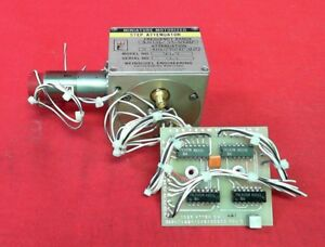Weinschel 9979 Motorized Step Attenuator 1 26ghz 90db Gearhead