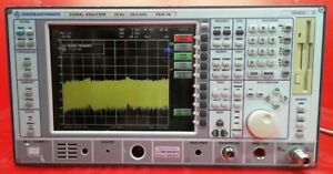 Rohde Schwarz Fsiq26 Signal Analyzer 20hz 26 5ghz W Options