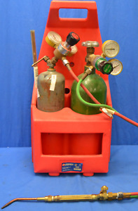Campbell Hausfeld Wt5000 Portable Oxy acetylene Torch Kit With Tote