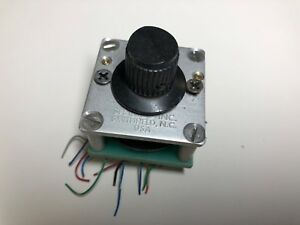 Vintage Shallco Rotary Selector Switch 32 Position Contact Switch