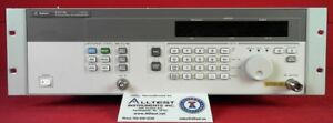 Agilent Keysight 83711b Synthesized Cw Generator 1 To 20ghz
