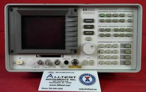 Hp Agilent Keysight 8593a 21 Portable Spectrum Analyzer