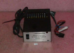 Micronta Regulated 12 Volt Power Supply Cat No 22 124a