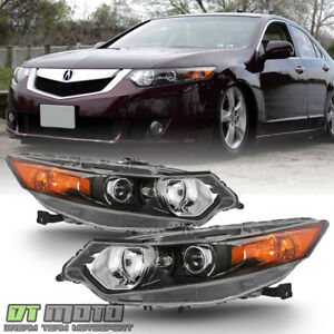 Hid Type 2009 2014 Acura Tsx Headlights Headlamps Replacement 09 14 Left Right