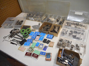 L1264 Large Lot Of Vintage Industrial Sewing Machine Parts For Union 39500 etc