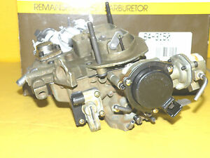 Ford Mustang Fairmont Capri Zephyr 1978 79 Carburetor Remanufactured By Holley