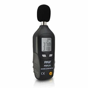 Pyle Mini Digital Sound Level Meter W A Frequency Weighting For Musicians And