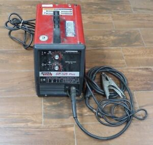 ri3 Lincoln Electric Sp 125 Plus Wire Feed Mig Welder Local Pick Up Only