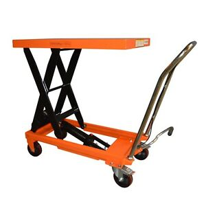 Material Handling Hydraulic Scissor Lift Table Cart 1100 Lb Tf50